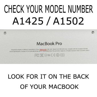Welink 3ใน1 ด้าน Apple MacBook Pro 33.02ซม Retinaเคส/นิ่ม-แข็งพลาสติกฝาเคส Touch+ป้องกันฝุ่นปลั๊ก+แป้นพิมพ์ปกสำหรับMacbook Pro 33.02ซมกับ Retina [รุ่น: A1425/A1502] (สีชมพู) - 2