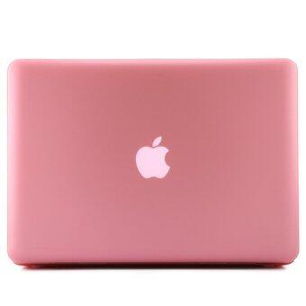Welink 3ใน1 ด้าน Apple MacBook Pro 33.02ซม Retinaเคส/นิ่ม-แข็งพลาสติกฝาเคส Touch+ป้องกันฝุ่นปลั๊ก+แป้นพิมพ์ปกสำหรับMacbook Pro 33.02ซมกับ Retina [รุ่น: A1425/A1502] (สีชมพู) - 3