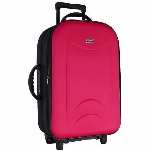 Wheal กระเป๋าเดินทางขนาดใหญ่ 24 นิ้ว 4 ล้อคู่ด้านหลัง ขยายได้ Code FBL161624-6 (Pink)