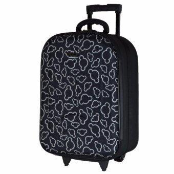 Wheal กระเป๋าเดินทาง กระเป๋าล้อลากหน้าโฟมขนาด 20 นิ้ว รหัสล๊อค Code F7720 Micky Mouse (Black)