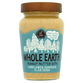 Whole Earth Peanut Butter with Sunflower Flax and Pumpkin Seeds 340g