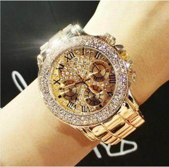 Women Rhinestone Watches Lady Dress Women watch ladies Crystal Quartz Clocks