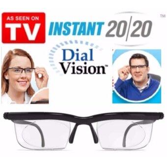 WORK : DIAL VISION-003 แว่นอ่านหนังสือ เลนส์คู่ มีปุ่มด้านข้างหมุนเลื่อนเลนส์คู๋