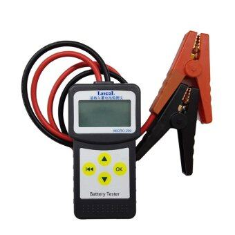 YACGroup MICRO-200 12V Car Battery Load Tester Vehicle AnalyzerDiagnostic Tool With Printer Function EFB/AGM/GELCCA100-2000,30-200Ah - intl