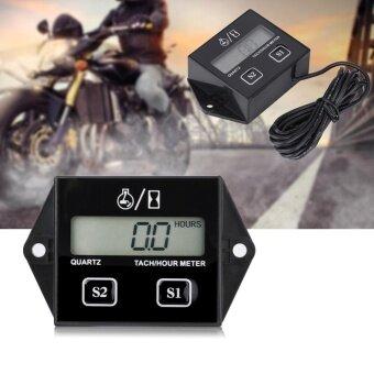 ซื้อ YOSOO LCD Digital Tach/Hour Meter RPM Tester for 2/4 Stroke Gas Engine Motorcycle - intl