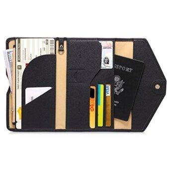 โฆษณา Zoppen Mulit Purpose Rfid Blocking Travel Passport Wallet Ver 4 Tri Fold Document