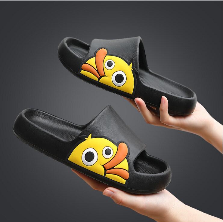 [COD] สินค้าพร้อมส่ง?รองเท้าแตะน้องเป็ด รองเท้าคู่ รองเท้าใส่ในบ้าน รองเท้าใส่ในห้องน้ำ รองเท้า แตะพื้นกันลื่น รองเท้าฤดูร้อนสุดน่ารัก