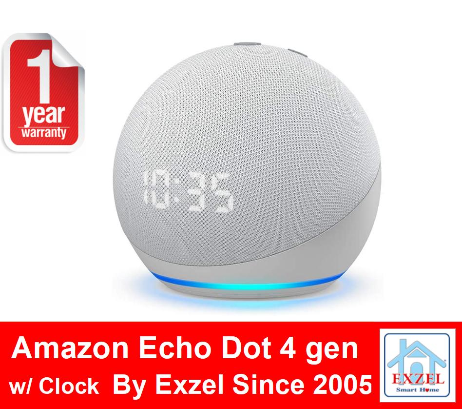 Echo Dot 4 (4th Gen) - Amazon Alexa Voice Assistant ลำโพงอัจฉริยะ by Amazon
