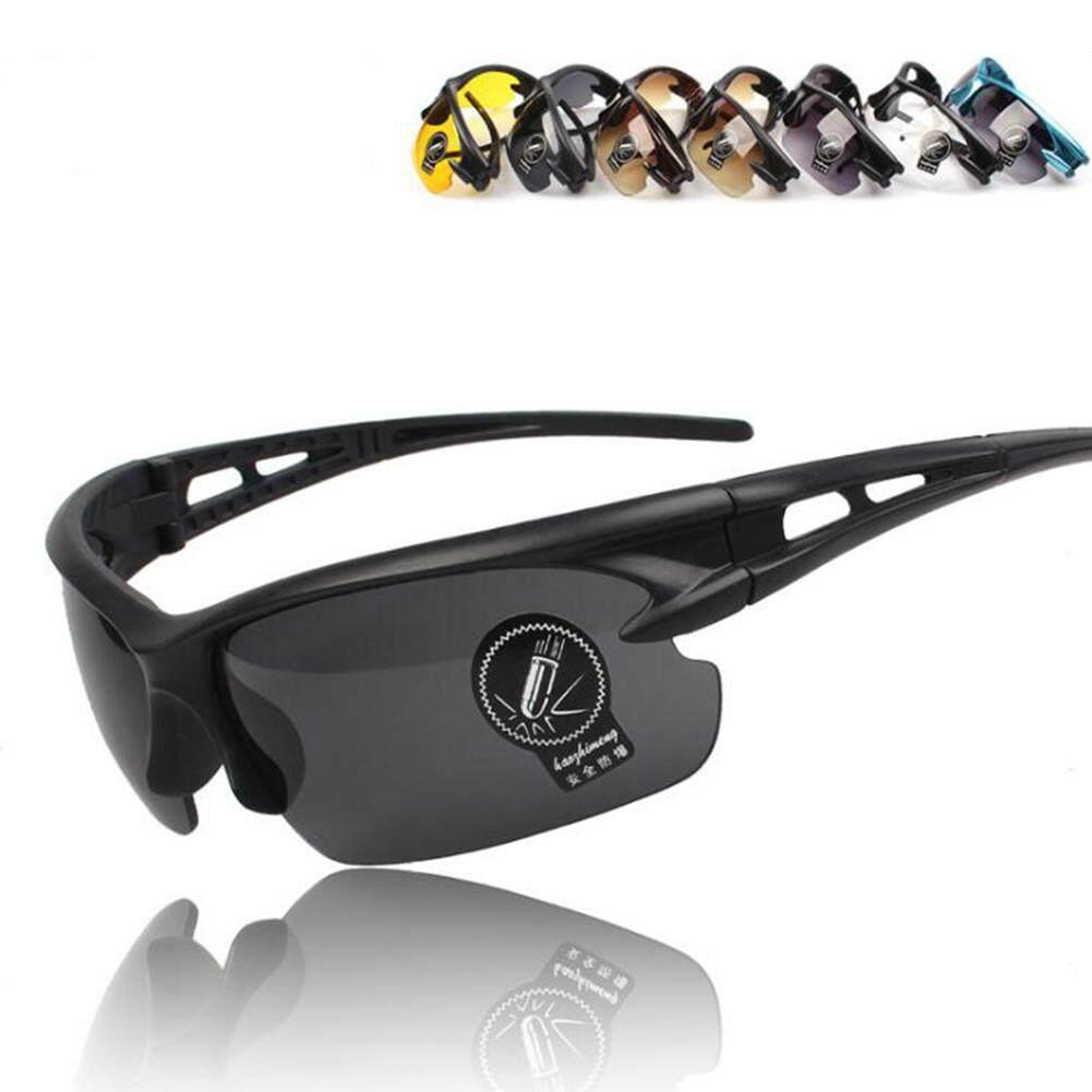 ... UV400 HD Modus Malam Bersepeda Berkuda Kacamata Mengemudi Kacamata Hitam Olahraga Kacamata - 5