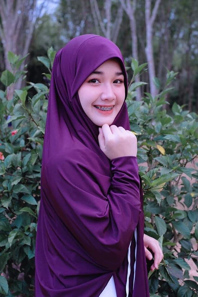 hijab ฮิญาบผรั่งเศสมีแขนรุ่นนี้สะดวกมากๆใส่ง่ายใส่สวยดูดี เปิด-ปิดหน้าได้ มีแขนในตัวมีเชือกผูกด้านใน