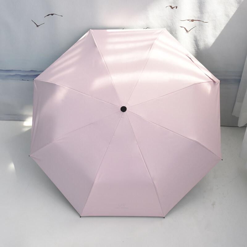 ร่มพับ 3 ตอน ร่มกันฝน ร่มกันแดด ร่มกันยูวี ร่มกันUV ร่มพับได้ ร่ม uv Umbrella คุณภาพดีราคาถูก