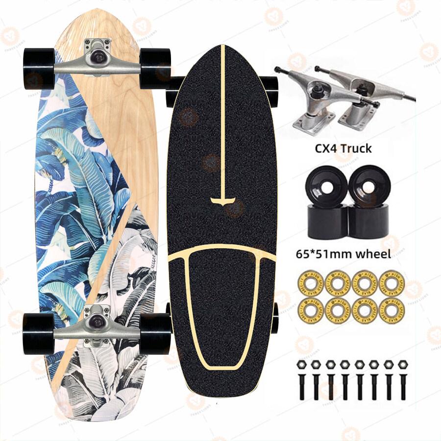 Surfskate Cx4 surf skate เซิร์ฟสเก็ต ทรัค สเก็ตบอร์ด Skateboard cruiser เด็ก ผู้ใหญ่ สเก็ตบอร์ดผู้ใหญ่ สเก็ตบอร์ดคนโต สเก็ตบอร์ด
