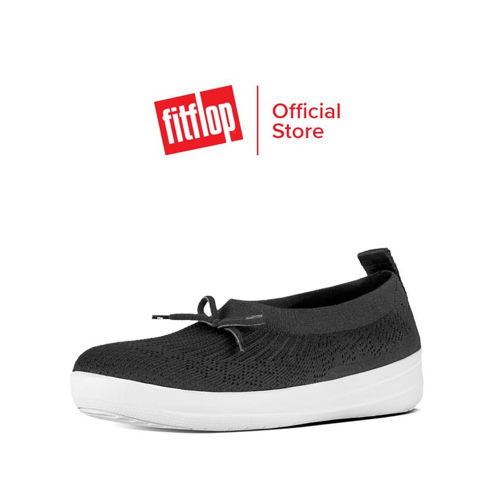 FITFLOP รองเท้าสวมส้นแบนผู้หญิง UBERKNIT SLIP-ON BALLERINA รุ่น E90 รองเท้าผู้หญิง