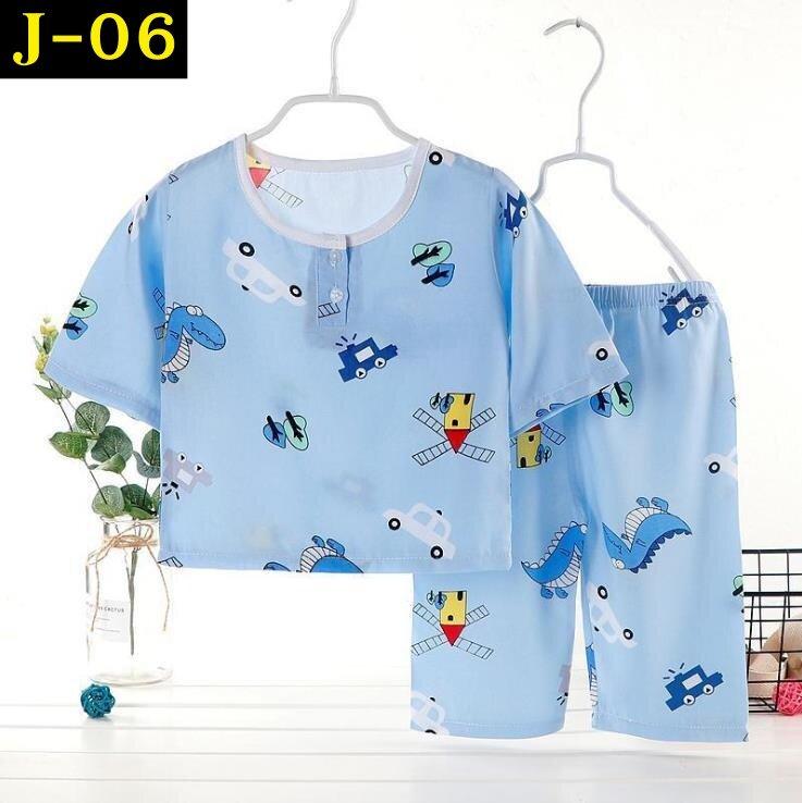 ชุดนอนเด็กผ้าฝ้าย เซ็ต 2 ชิ้น เสื้อแขนยาว+กางเกงขายาว ชุดนอนลายการ์ตูน ชุดนอนแฟนซี พิมพ์ลายการ์ตูนน่ารัก ใส่สบาย (มีของพร้อมส่ง)