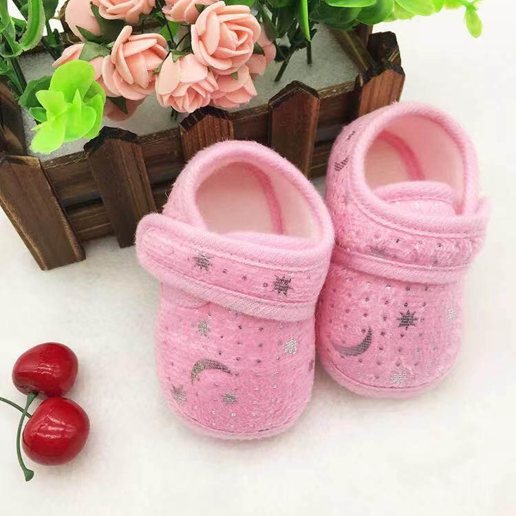 Babyonline(X303)N5รองเท้าสำหรับเด็กทารกลายหมี