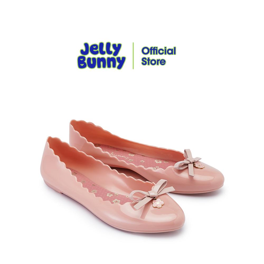 JELLY BUNNY SOPHIE SAKURA เจลลี่ บันนี่ โซฟี ซากุระ รองเท้าส้นแบน รองเท้าบัลเล่ต์ รองเท้าหุ้มส้น