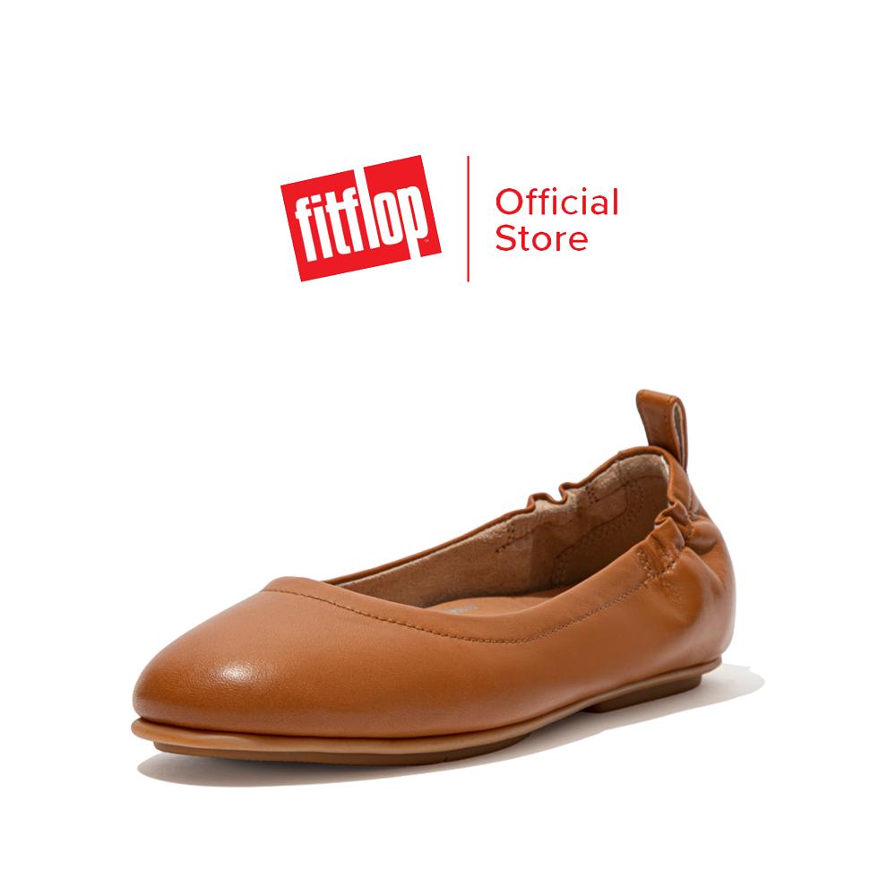 FITFLOP รองเท้าสวมส้นแบนผู้หญิง ALLEGRO รุ่น Q74 รองเท้าผู้หญิง
