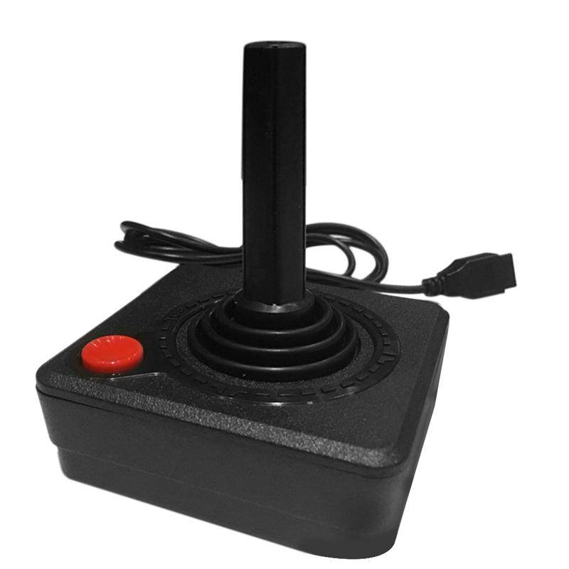 Gaming Joystick Controller for Atari 2600 Game Rocker with 4-Way Lever and Single Action Button Retro Gamepad