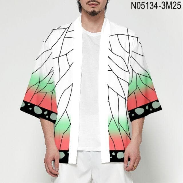 Luckystone24 ☘️พร้อมส่ง 5สี เสื้อคลุม ดาบพิฆาตอสูร Demon Slayer ฮาโอริ kimetsu no yaiba แฟนซี ชุดคอสเพลย์ ชุดญี่ปุ่น Kimetsu anime
