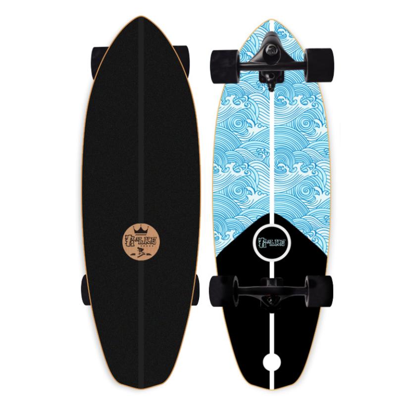 """ส่งจากไทย! Blks เซิร์ฟสเก็ต 32 นิ้ว ทรัค CX4 CX7 S7 P7 (waterborne) surfskate 32"""" ผู้ใหญ่ ของแท้ สเก็ตบอร์ด skateboard"""