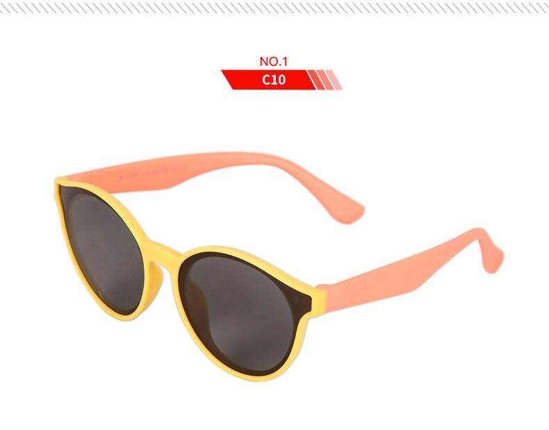 Babyonline(W236)F2แว่นตากันแดดแฟชั่นสำหรับเด็ก