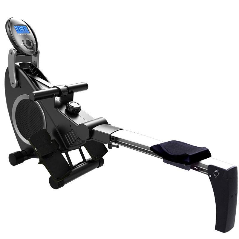 rowing machine fitness rowing machine กรรเชียงบก สุขภาพ & การออกกำลังกาย เครื่องพายแม่เหล็กในร่ม w/8 ระดับความต้านทานที่ปรับได้ Rower จอแอลซีดี น้ำหนักสูงสุด 120 กก ARM02