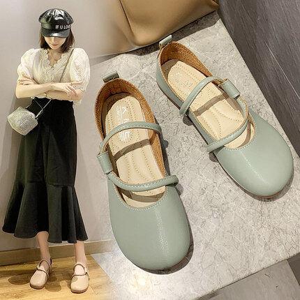รองเท้าหนังนิ่ม Brook มี2สี พร้อมส่ง