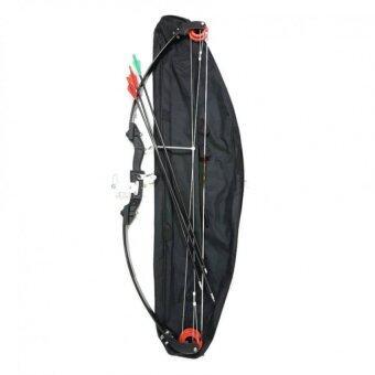 Arrow Yijian ชุดธนูฝึกหัด สลิงทดแรงขนาด 110 ซม. คันธนูไฟเบอร์กลาส+ลูกธนู 3 ดอก+กระเป๋าเก็บธนู