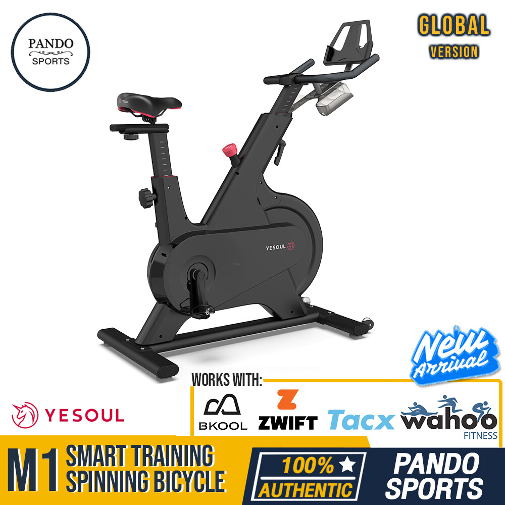 Yesoul M1 Smart Training Spinning Bicycle จักรยานไฟฟ้าออกกำลังกาย คาร์ดิโอ by Pando Sports ส่งฟรี!
