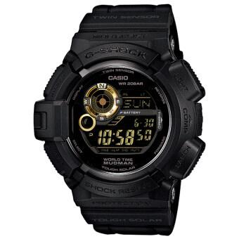 Casio G-Shockนาฬิกาข้อมือผู้ชาย สีดำ สายเรซิ่น รุ่นG-9300GB-1