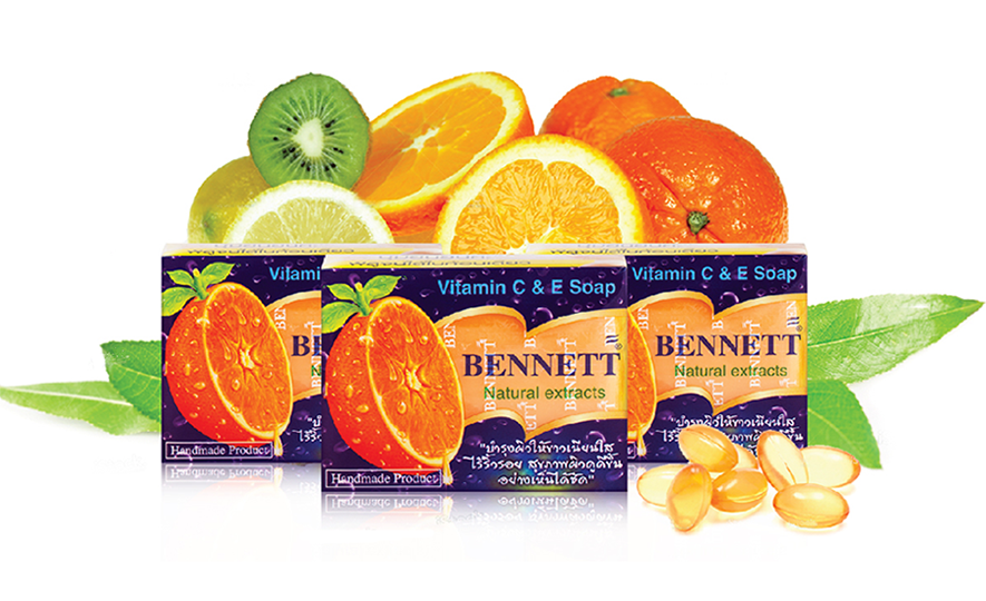 Bennett Natural Extracts Vitamin C&E Soap