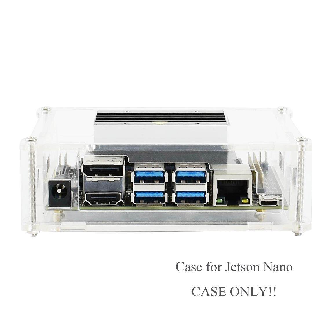 Acrylic Clear/transparent Case for Jetson Nano