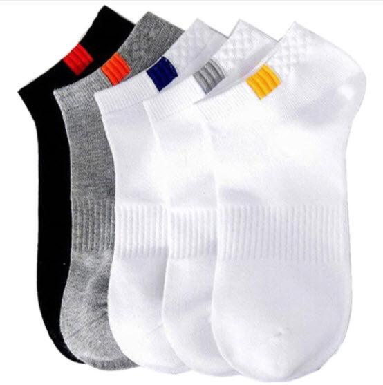(สั่งขั้นต่ำ3คู่)ถุงเท้า ถุงเท้าแฟชั่น ถุงเท้าข้อสั้น กดเลือกสีที่ตัวเลือกสินค้า