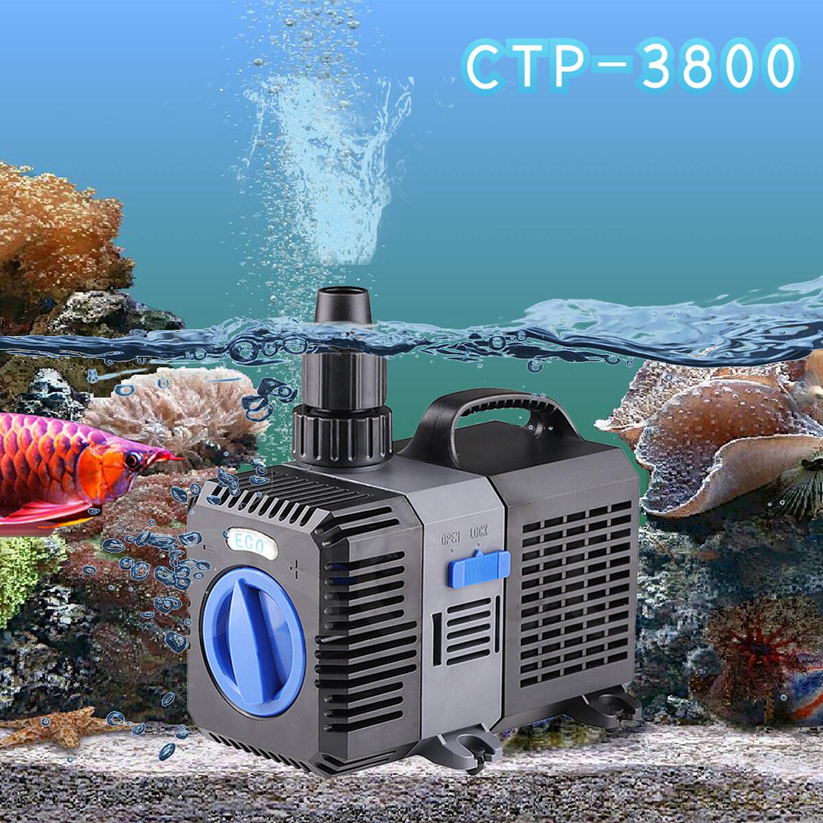 ปั้มน้ำ GRECH ประหยัดไฟ รุ่น CTP - 3800 ปั้มบ่อปลา ปั้มบ่อกุ้ง ปั้มน้ำตก ปั้มน้ำพุ อาหารปลา ปั้มลม fish pond pump shrimp pond pump waterfall pump fountain pump fish food air pump