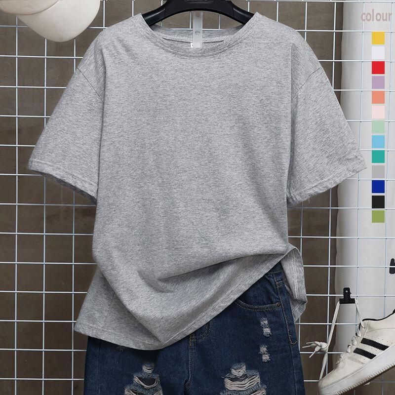Fashion BBK มี 13สี ให้เลือกSize(S-3XL) เสื้อยืดคอกลม เสื้อยืดสีพื้น เสื้อยืดตัวเปล่า ไม่ต้องรีด ผ้าคุณภาพเกินราคา ใส่ได้ทั้งหญิง-ชาย