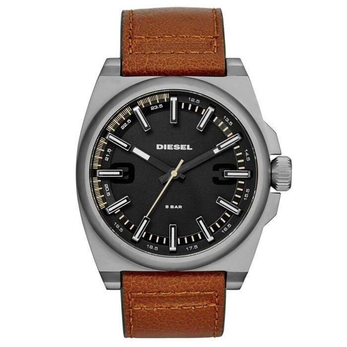 การใช้งาน  กระบี่ Diesel นาฬิกาข้อมือผู้่ชาย สายหนัง รุ่น DZ1611 - Brown/Black