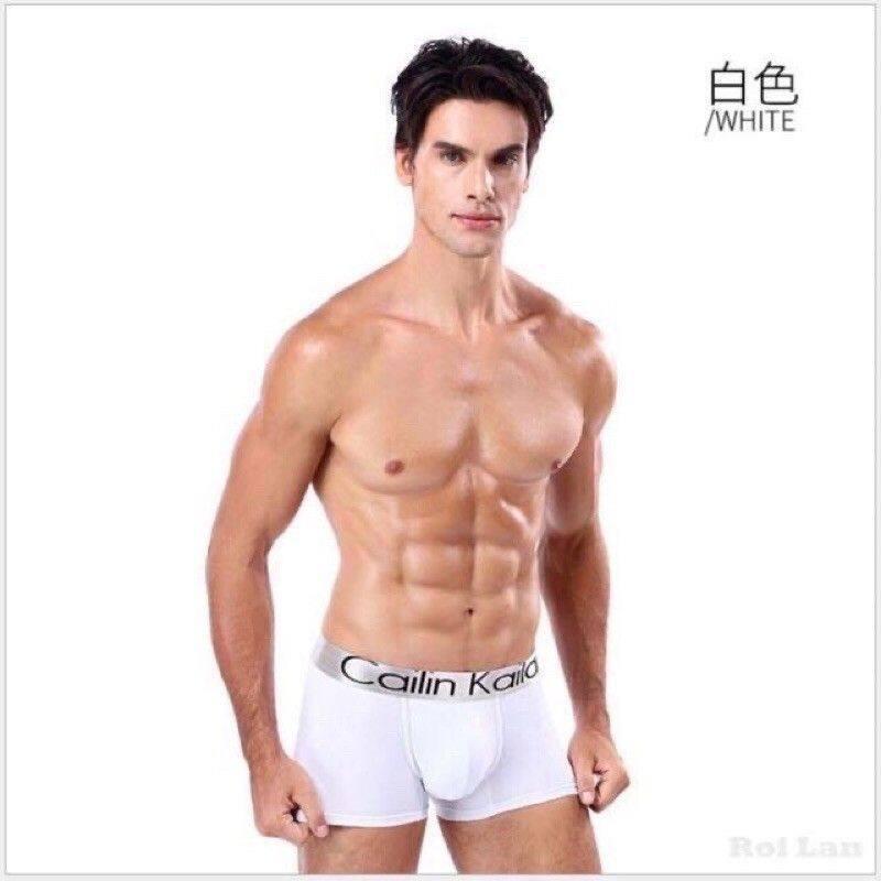 กางเกงในชาย?พร้อมส่ง?Cailan Kailan  CK  ทรงboxer ผ้านิ่ม ใส่สบาย