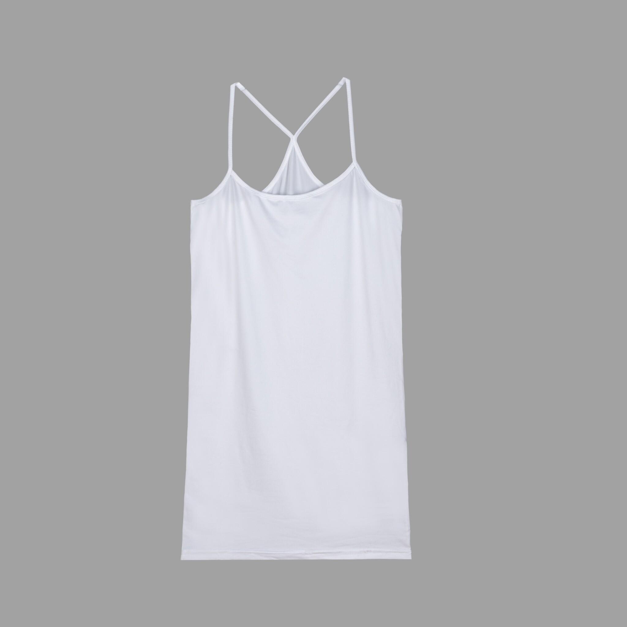 เสื้อสายเดี่ยว สายเดี่ยว ซับในสายเดี่ยว ขาว ดำ เนื้อผ้าดี นุ่มยืด สวมใส่สบาย แฟชั่นสําหรับผู้หญิง Free Size