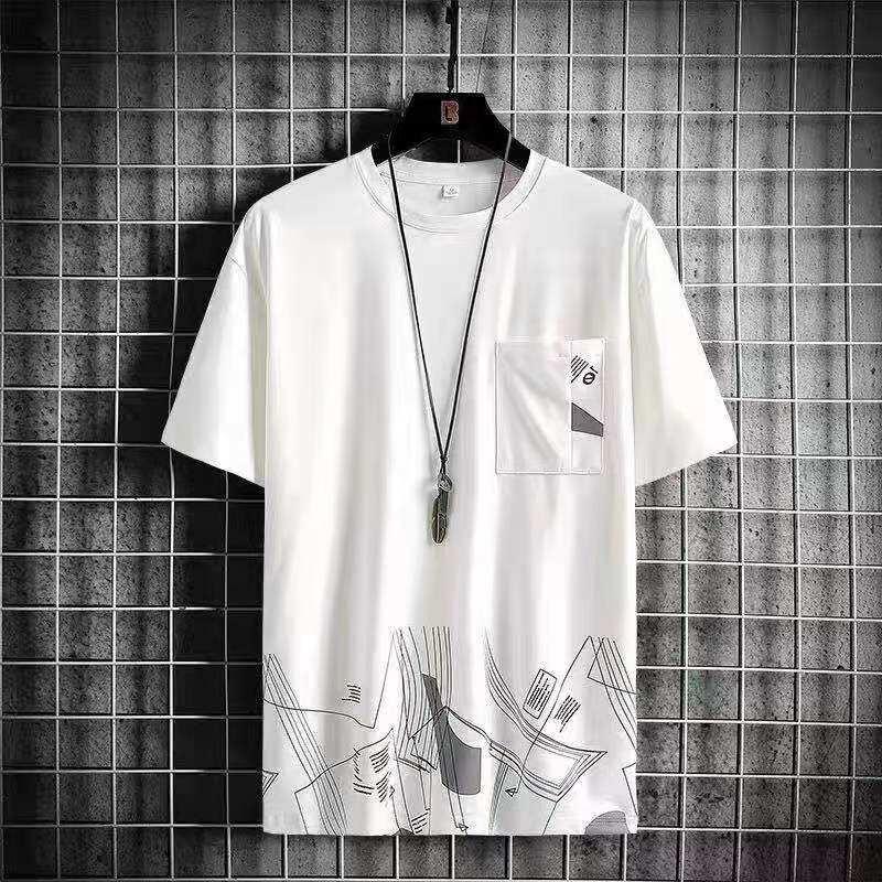 Suya Clothing NEW! เสื้อยืดคอกลมแขนสั้นผู้ชาย NTC12
