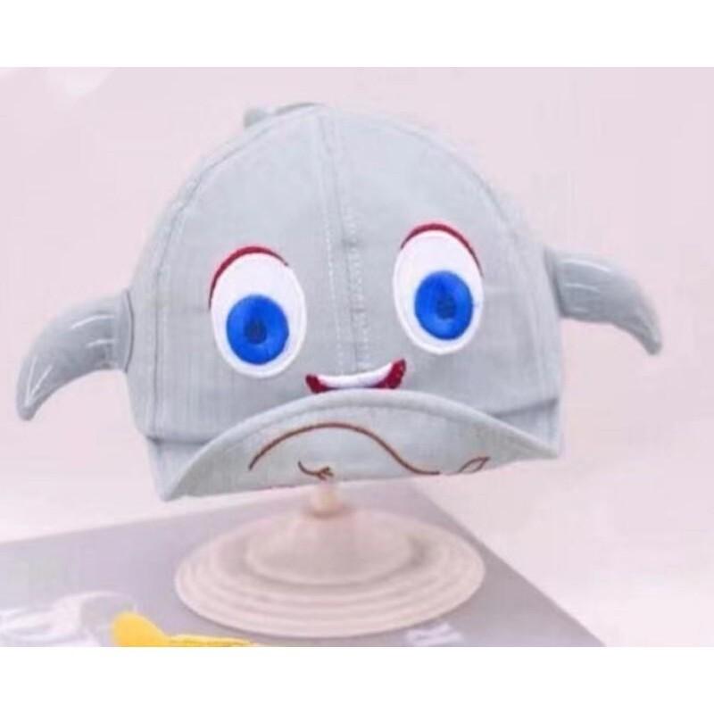 [พร้อมส่ง]หมวกเด็ก 5เดือน - 2ปี หมวกเด็กอ่อน หมวกแก๊ปเด็ก ปีกอ่อน หมวกเด็กแรกเกิด รอบหัว 44-48 cm.หมวกเด็ก