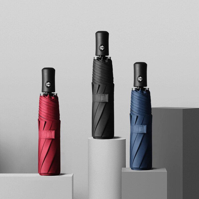 As Well As ร่มอัตโนมัติ เพียงกดปุ่มเดียว ใช้ได้ทั้งกางร่มหรือหุบร่มได้ กันได้ทั้งฝนและแดด ได้ดี UV