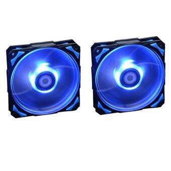 ID-COOLING PL-12025-B COOLING FAN (BLUE LED) x 2pcs