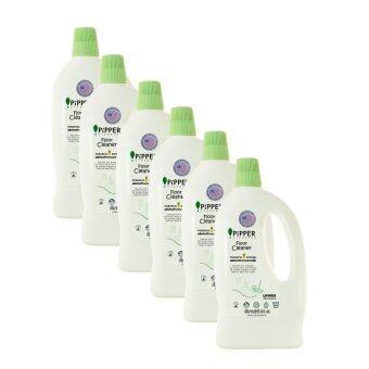 ขายยกลัง Pack 6 PiPPER STANDARD ผลิตภัณฑ์ทำความสะอาดพื้นกลิ่นลาเวนเดอร์ แบบขวด 800 มล. (FC800 90410705=6pcs)