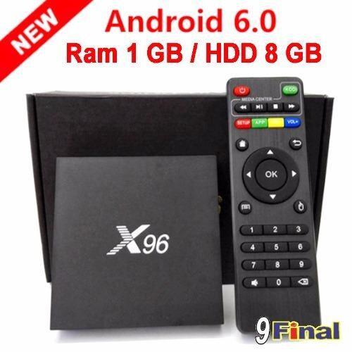 ยี่ห้อไหนดี  เชียงราย M8S M8S+ X96 1 GB/8GB Amlogic S905X Android 6 TV Box Ipplaybox Quad Core 3D-4K 2K Ultra HD 2160p HDMI 2.0