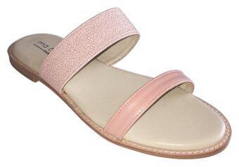 ma cherie shoes รองเท้าแตะแบบสวม รุ่น M000104 Sand Blink Sandal (Pink)