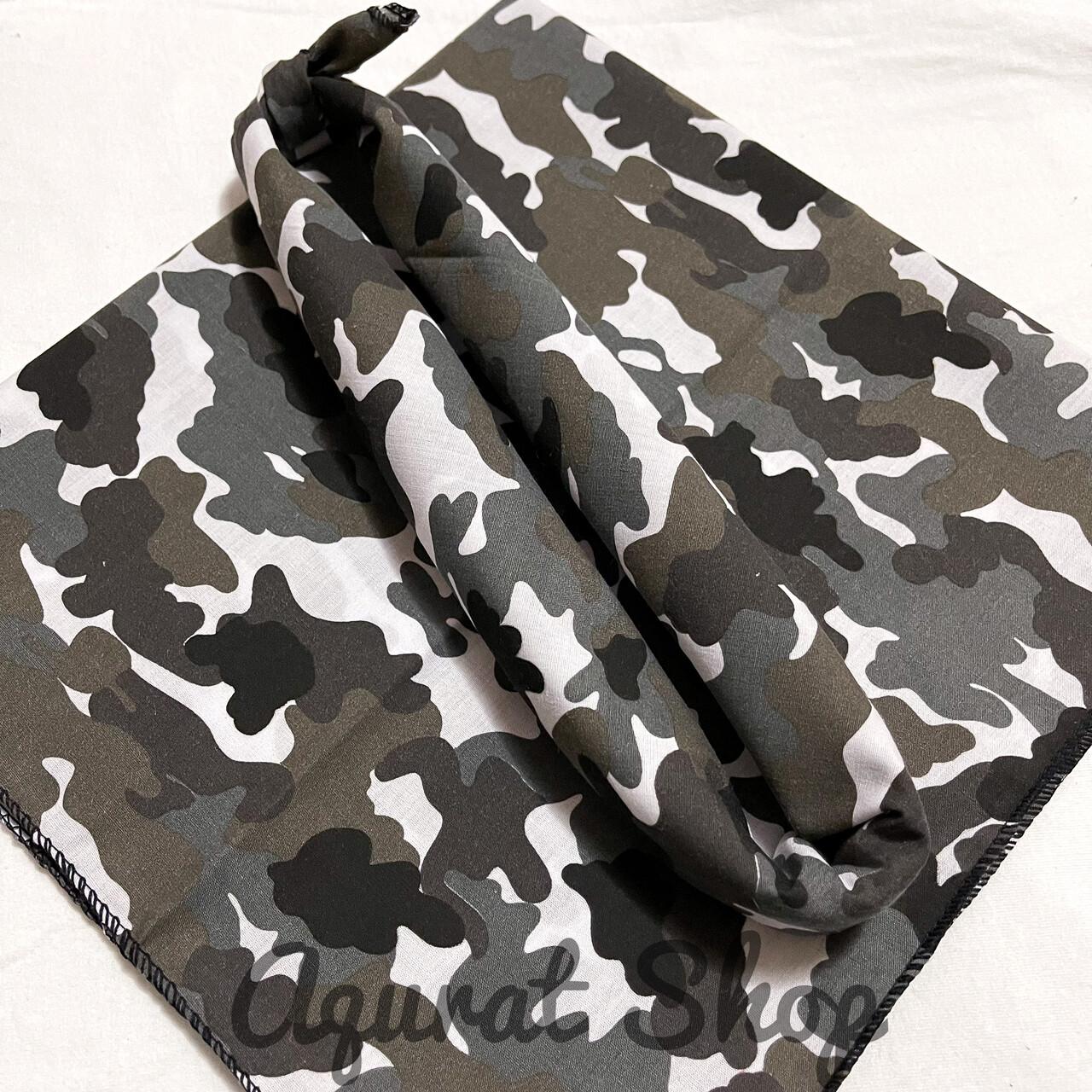 ผ้าโผกหัว ผ้าพันคอ ผ้าเช็ดหน้าวินเทจ ขนาด54x54 พร้อมส่ง‼️‼️