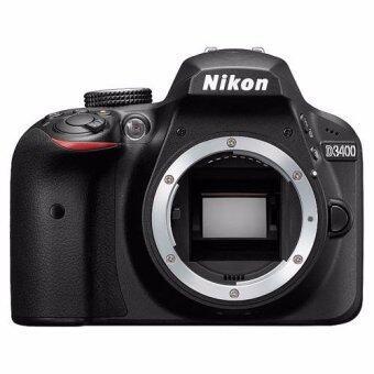 Nikon D3400 + Lens AF-P 18-55mm f3.5-5.6G VR ฟรี SD32GBC10+กระเป๋ากล้อง+ฟิล์มกันรอย