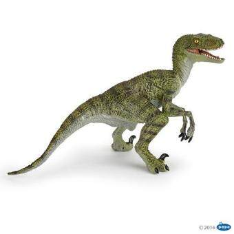 Papo : PPO55058* โมเดลไดโนเสาร์ Green velociraptor