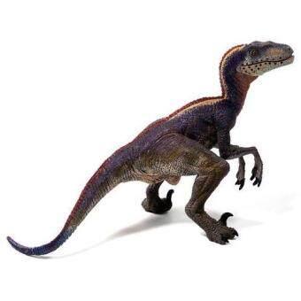 Papo : PPO55053* โมเดลไดโนเสาร์ Velociraptor - Exclusive Color Scheme