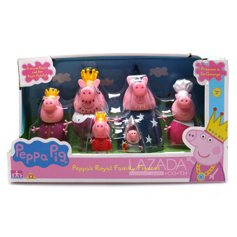 PEPPA PIG PEPPA'S ROYAL FAMILY FIGURES 43785